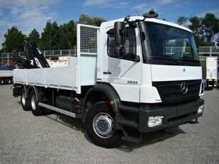 MERCEDES-BENZ Axor 2633 6x4 Darus camión caja abierta