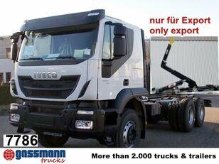 IVECO Trakker / AD260T45 / Autom./Klima camión con gancho nuevo