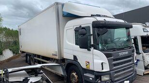 SCANIA P340 camión frigorífico siniestrado