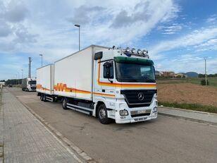 MERCEDES-BENZ ACTROS 1844 camión furgón + remolque