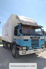 SCANIA P82 H left hand drive 6X2 24 ton detachable box body camión furgón