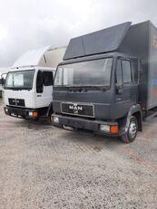 MAN 8.163 / Niski przebieg / Dobry stan camión furgón
