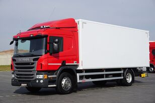 SCANIA P 250  / E 6 / KONTENER / 17 PALET / ŁAD. 9166 KG / MAŁY PRZEBIE camión furgón