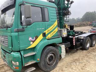 MAN Tga 26.480  6x4 Loglift 215Z camión maderero