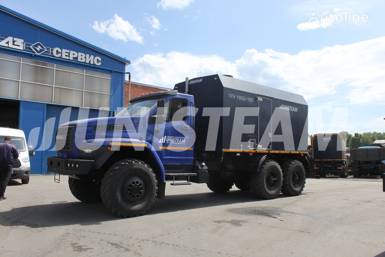 UNISTEAM PPUA 1600/100 serii UNISTEAM-M1 URAL NEXT 4320 camión militar nuevo