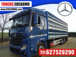 MERCEDES-BENZ ACTROS 2545 camión para transporte de ganado