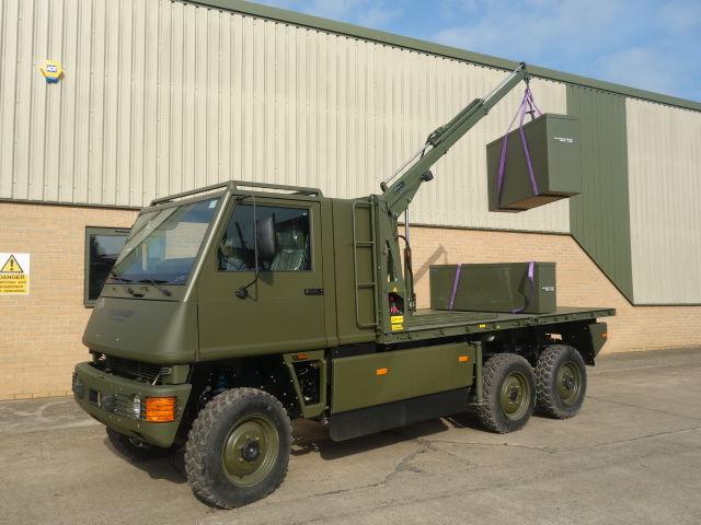 MOWAG Duro II camión plataforma