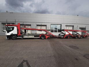 IVECO Stralis  camión portacoches + remolque portacoches