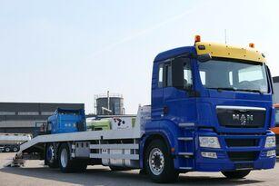 MAN TGS 26.400 6x2 Csörlővel és rámpával camión portacoches