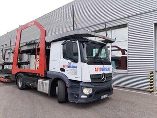 MERCEDES-BENZ ACTROS camión portacoches + remolque portacoches