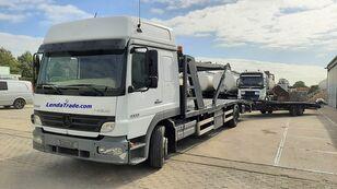 MERCEDES-BENZ Atego 1323 / 7 Cars / Winch / Airco camión portacoches + remolque portacoches