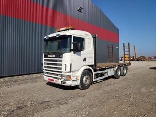 SCANIA 124.400 camión portacoches