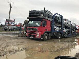 VOLVO FM 440 camión portacoches + remolque portacoches