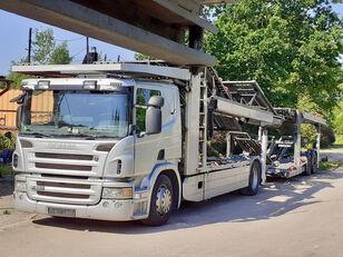 SCANIA P420 camión portacoches + remolque portacoches