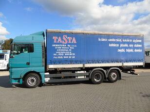 MAN TGA 26.440 6x2 MANUAL Euro4 camión toldo