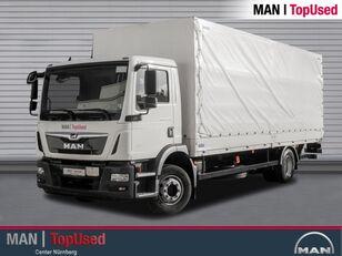 MAN TGM 15.290 BL-PRITSCHE PLANE-AHK-LBW-3SITZER-LGS camión toldo