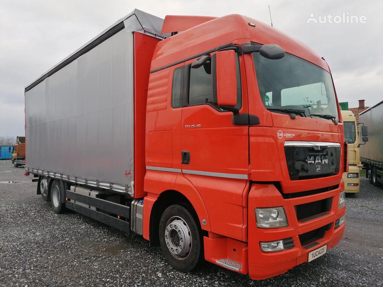 MAN TGX 26.400 EURO 5 camión toldo