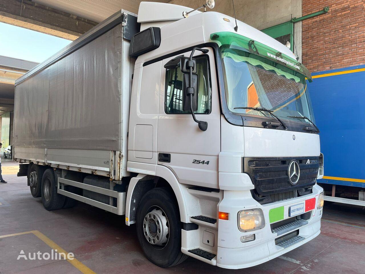 MERCEDES-BENZ ACTROS 2544 camión toldo