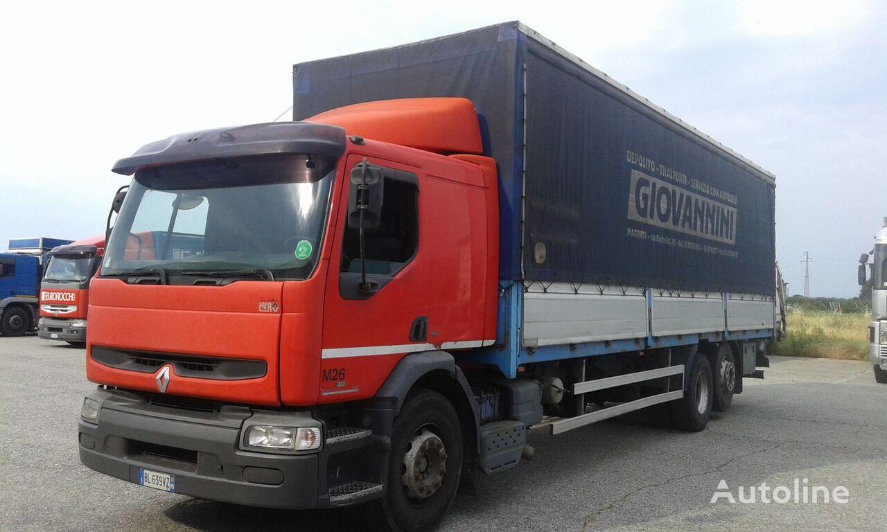 RENAULT PREMIUM 300 camión toldo