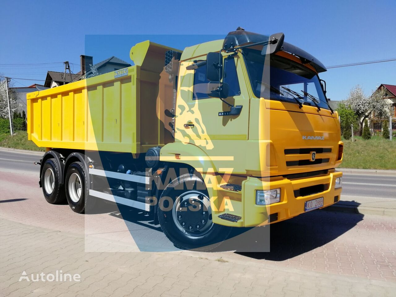 KAMAZ camión volquete nuevo