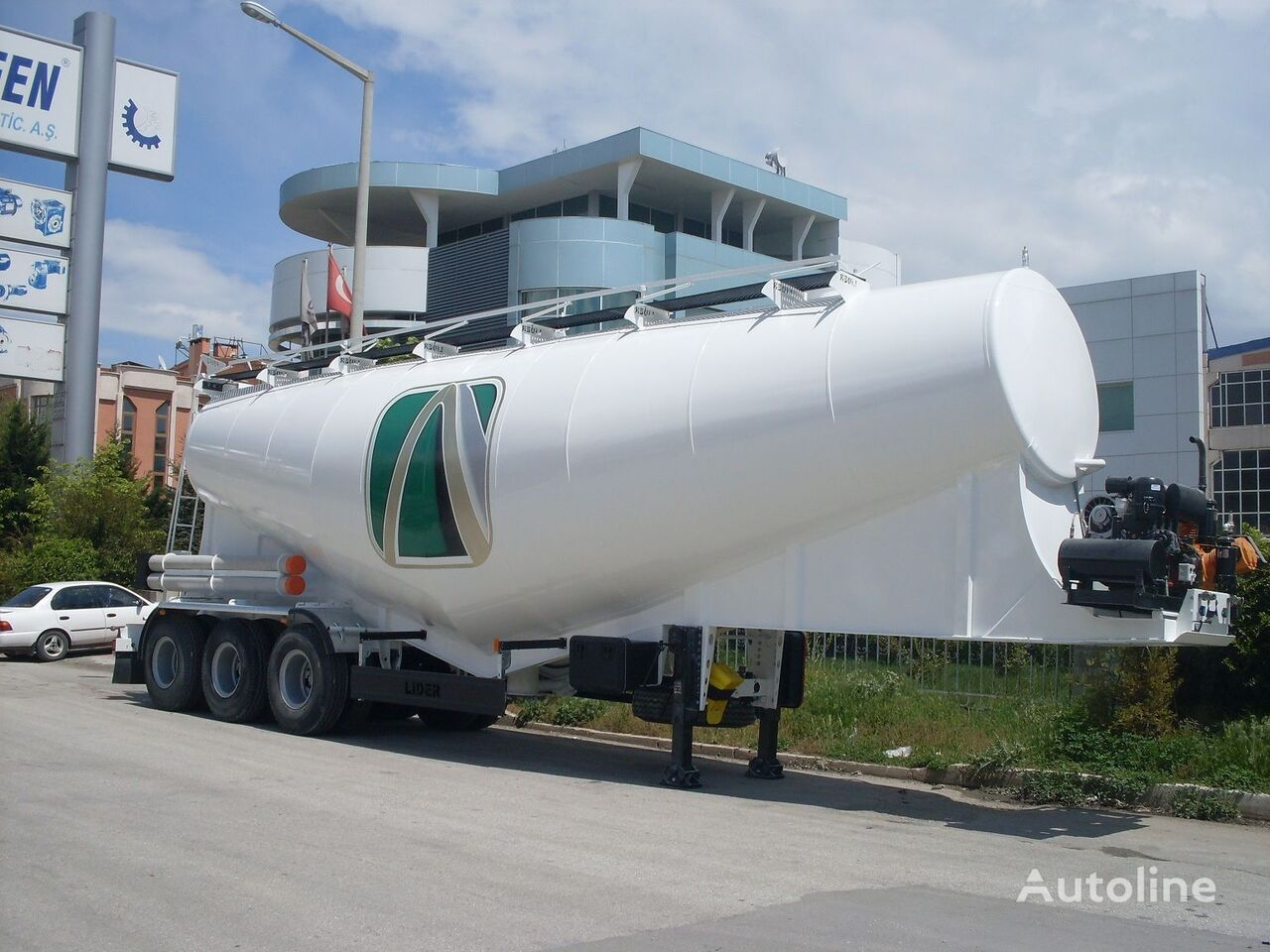 cisterna de cemento LIDER بلكر اسمنت مواصفات اوربية 2019 nueva