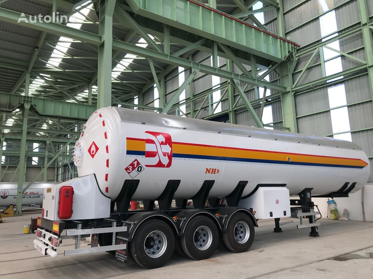 cisterna química MIM-MAK 57 m3 NH3 TANK nueva