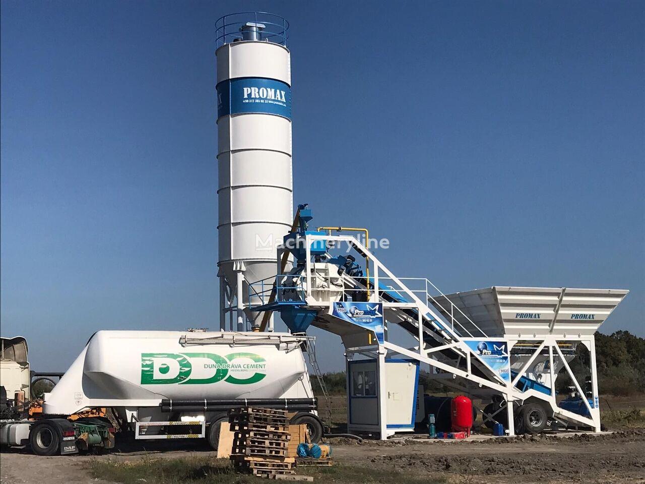 PROMAX Mobile Concrete Batching Plant PROMAX M60-SNG(60m³/h) planta de hormigón nueva