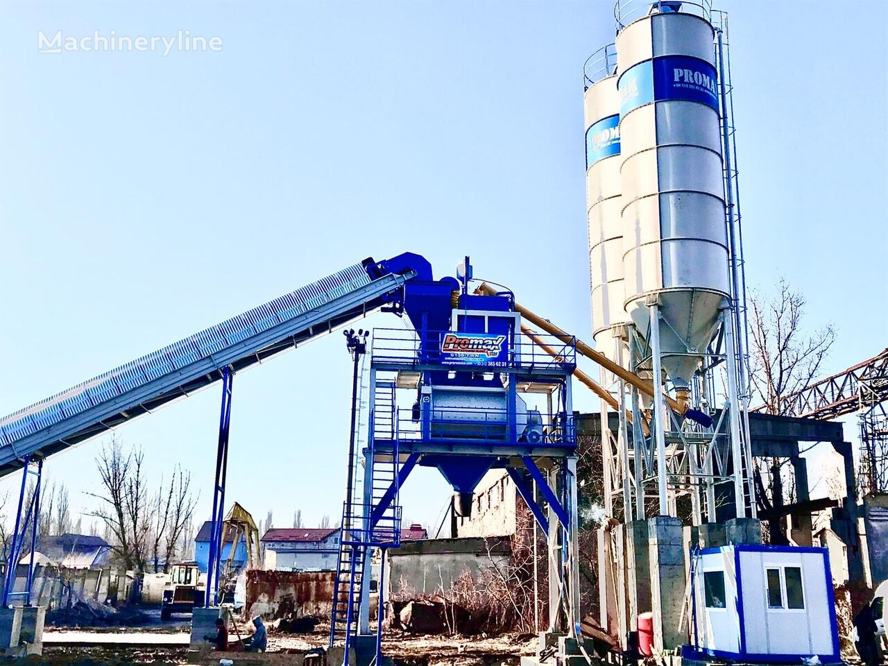 PROMAX STATIONARY Concrete Batching Plant PROMAX S130-TWN (130m/h) planta de hormigón nueva