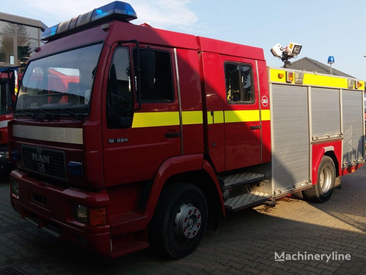 camión de bomberos MAN 12.224F