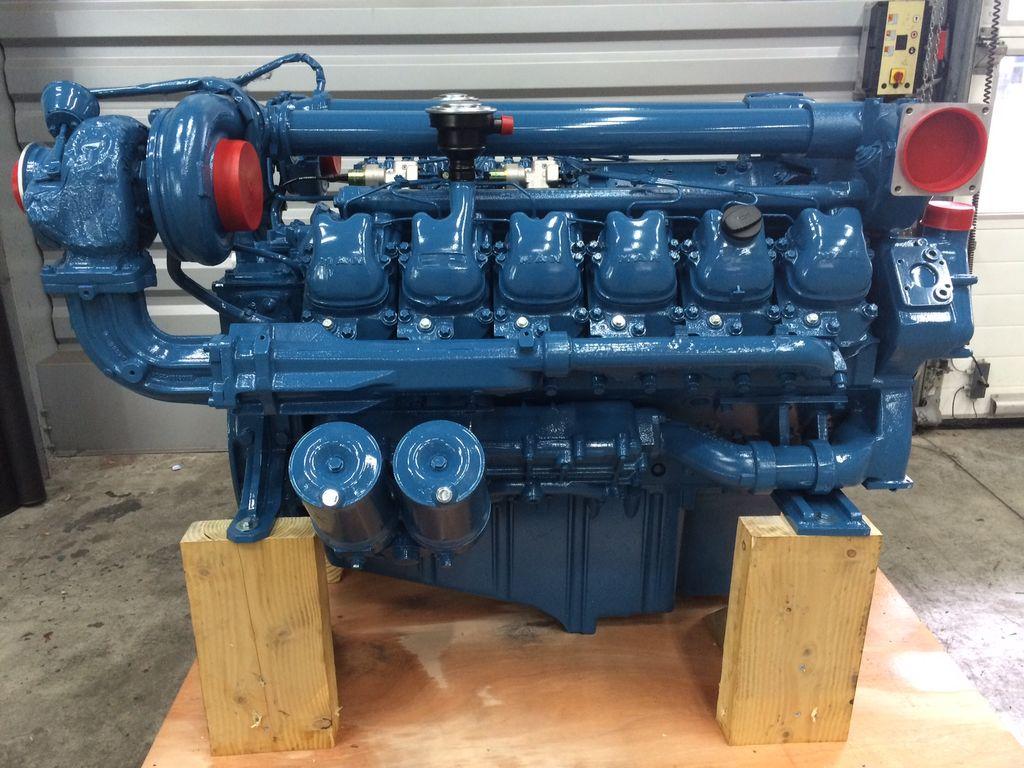 motor MAN D2842LE103 para grúa pórtico nuevo