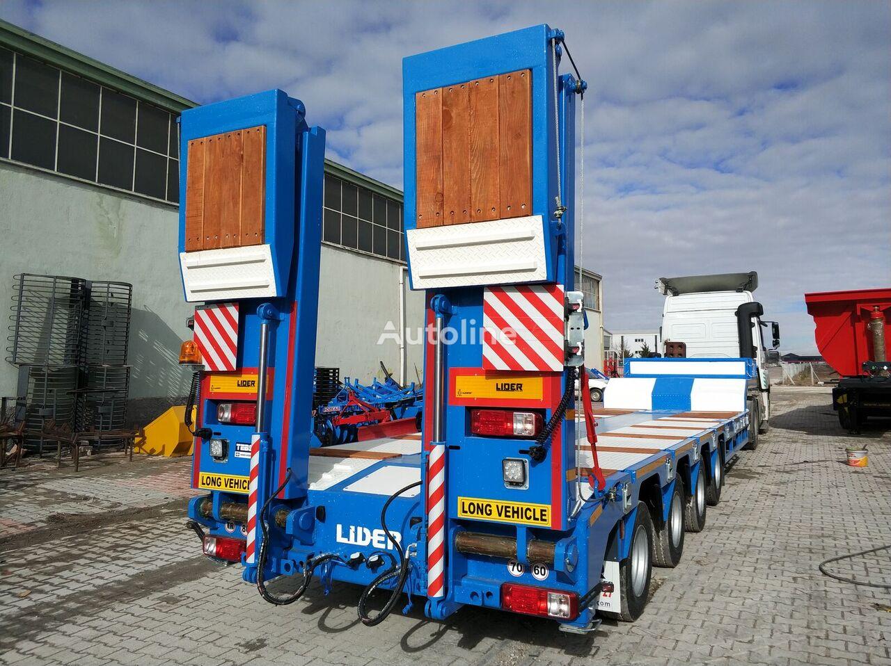 LIDER 2020  model new directly from manufacturer company available sel semirremolque de cama baja nuevo